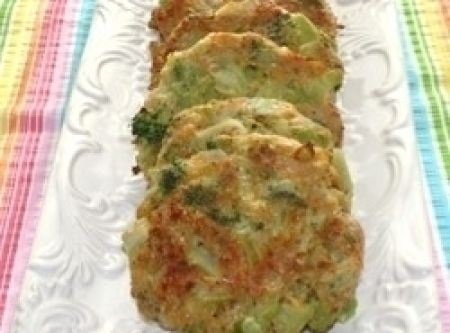 Baked Broccoli Cheese Patties Recipe This is a link to the recipe, not ...