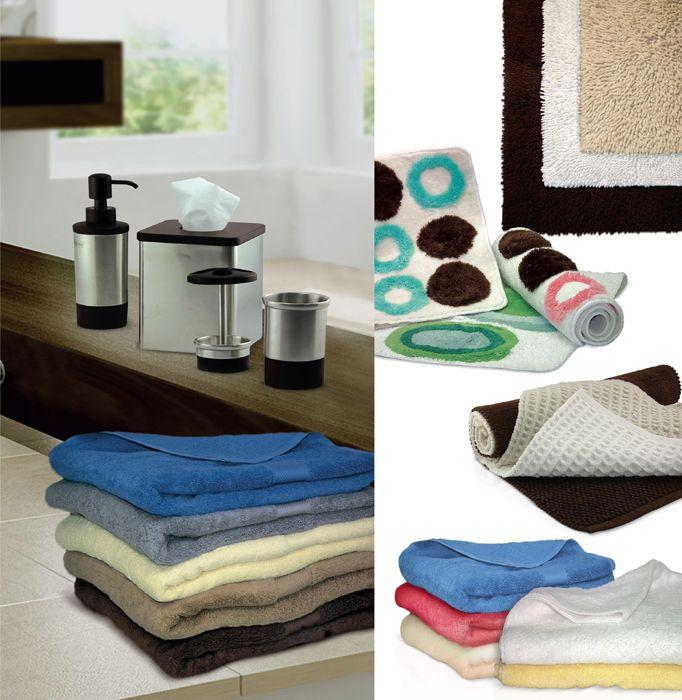 toallas y alfombras para el ba o hogar pinterest