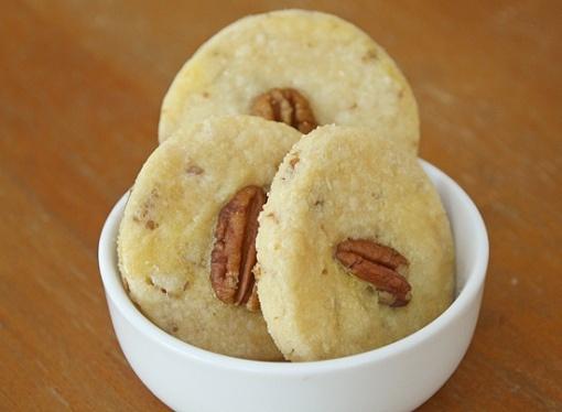 My favorite cookie recipe - maple pecan shortbread