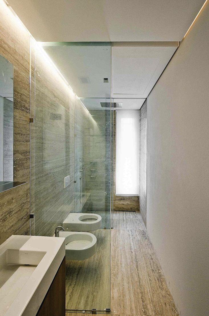 Narrow Wall Sconces For Bathroom : Narrow bathroom lighting Bathrooms Pinterest