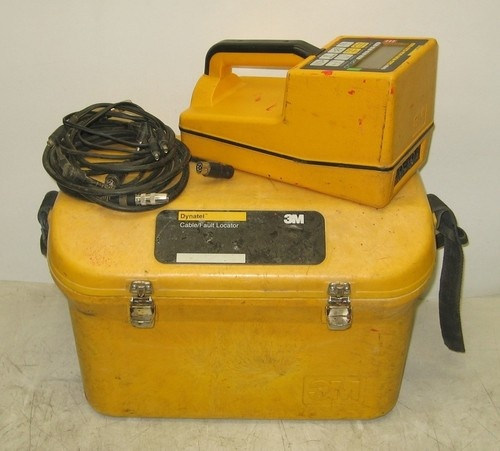 3m Cable Fault Locator : M dynatel cable fault locator l untested for