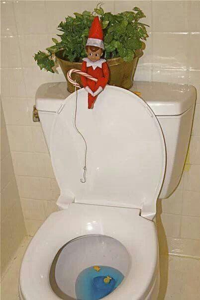 Gone Fishing Elf On The Shelf Pinterest