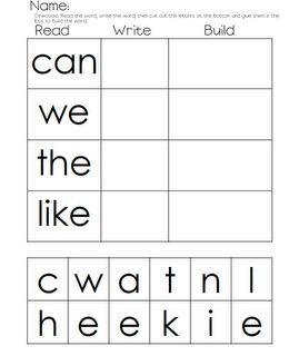 Kindergarten Stars!: Read, Write, Build