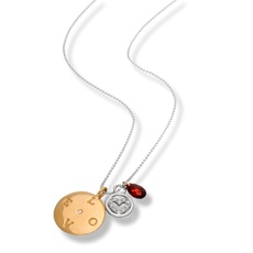 """The message doesn't get any clearer than a necklace that says """"love."""" #MothersDay #gifts #jewelry"""