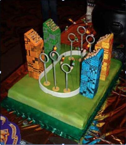Quidditch Quidditch cake ...
