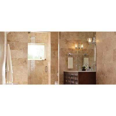 Beige 12 In X 24 Honed Travertine Floor And Wall Tile