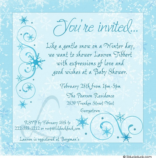 winter themed baby shower baby pinterest