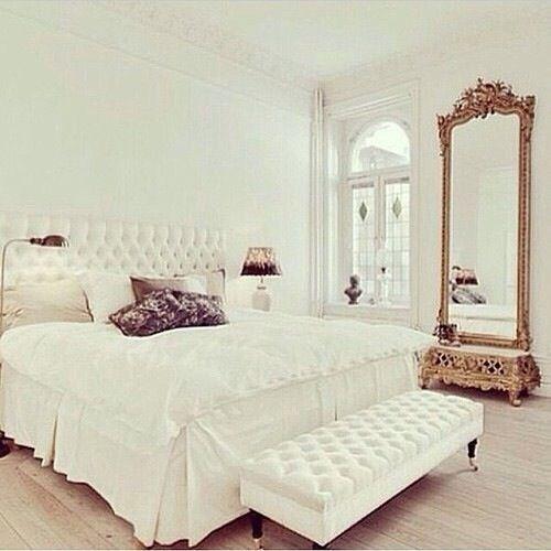 white bedroom home pinterest