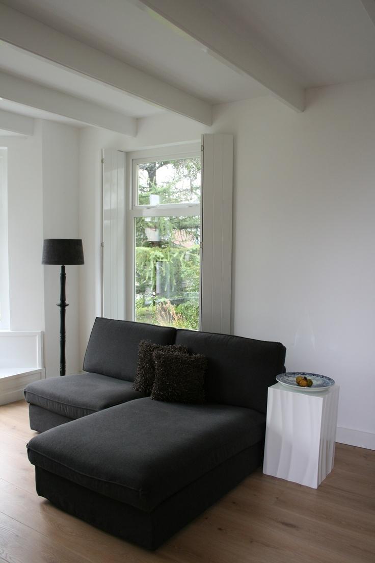 Bank ikea kivik 031309 eine interessante idee f r die gestaltung einer parkbank - Binnenkleuren met witte muur ...
