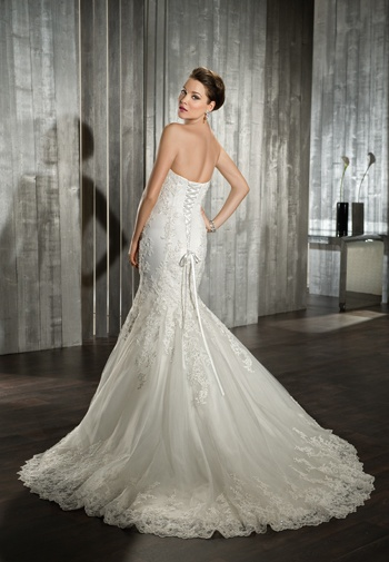 Robe de mariée 136-dos  Robes de mariée  Pinterest