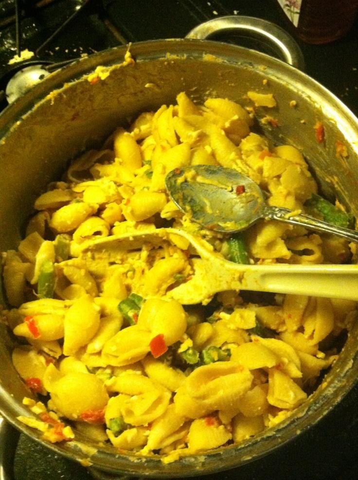 Vegan Red Pepper Pesto Pasta #vegan | Vegan Main Dishes | Pinterest