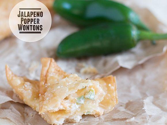 Frisky Eats: Jalapeno Popper Wontons