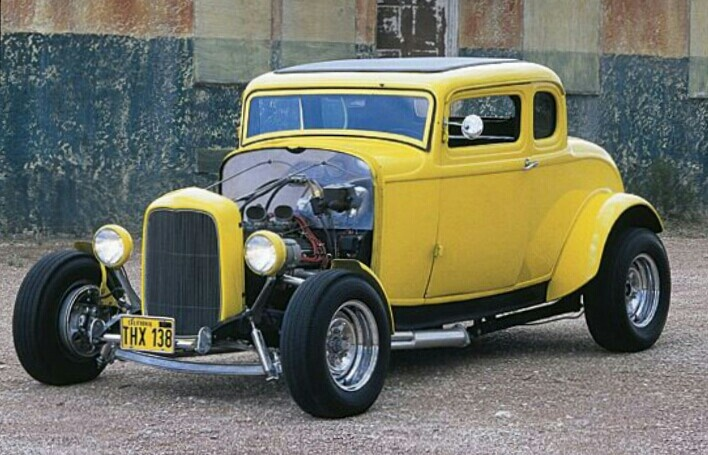 Milners iconic 32 5 window ford coupe rat rods hot for 32 ford 5 window coupe