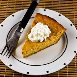 Low-Sugar Pumpkin Cheesecake Pie Recipe for a Thanksgiving Dessert ...