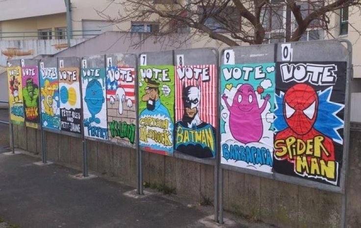 Vous ne savez pas pour qui voter dimanche ? Voici quelques pistes...