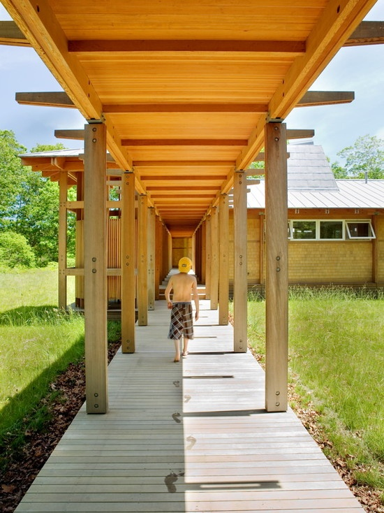 covered walkway Country home Pinterest