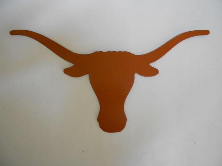 Texas Longhorns Metal Wall Art Cowboy Art Pinterest