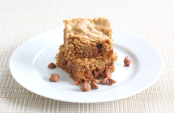 Cinnamon Blondies from Perfect One-Dish Dinners. Ingredients: cake ...