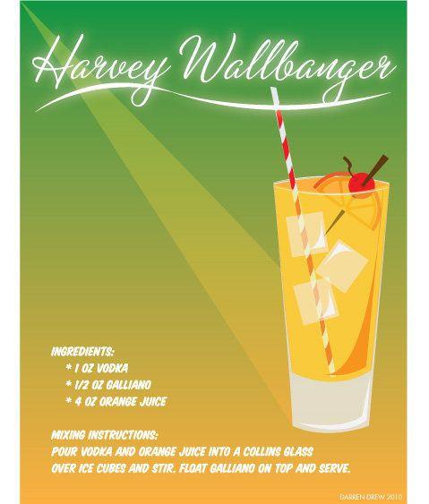 National Harvey Wallbanger Day, October 8. Get out your hip-hugger ...