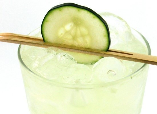 Cucumber Basil Gimlet...one of my all time faves!