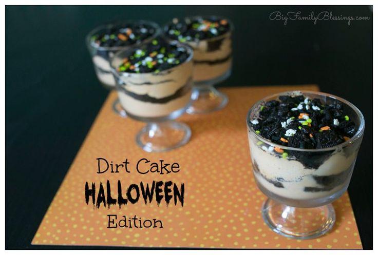 Dirt Cake Halloween Edition | Big Family Blessings blog