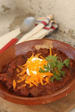 Chili with Chocolate | Recipe