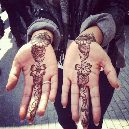 Mehndi For Inner Hand : Henna hands tumblr mehndi pinterest