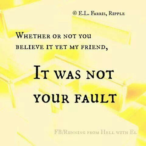 Movie quote it's not your fault