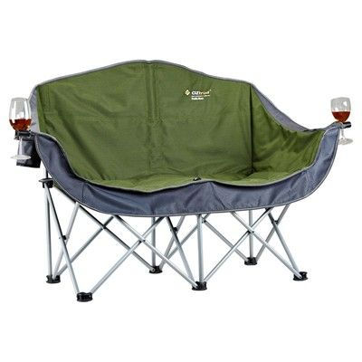 OZtrail Double Moon Chair Camping