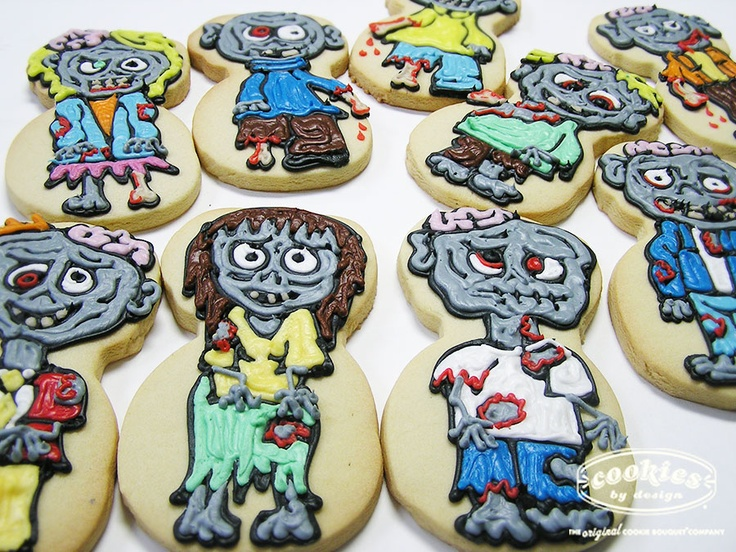 Zombie Cookies Our Cookies Pinterest
