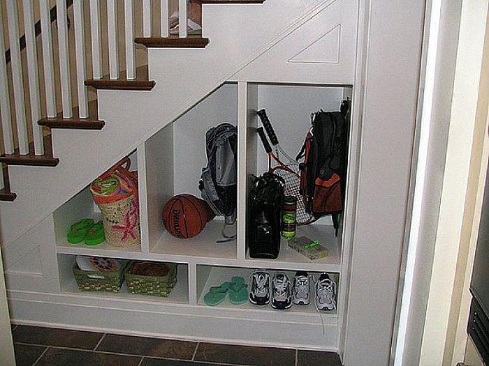 Under stairs closet storage design ideas Stairs Pinterest