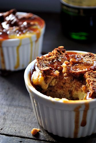 ... Soda Bread Pudding with Whiskey Caramel Sauce, by Gaby's Gluten-Free