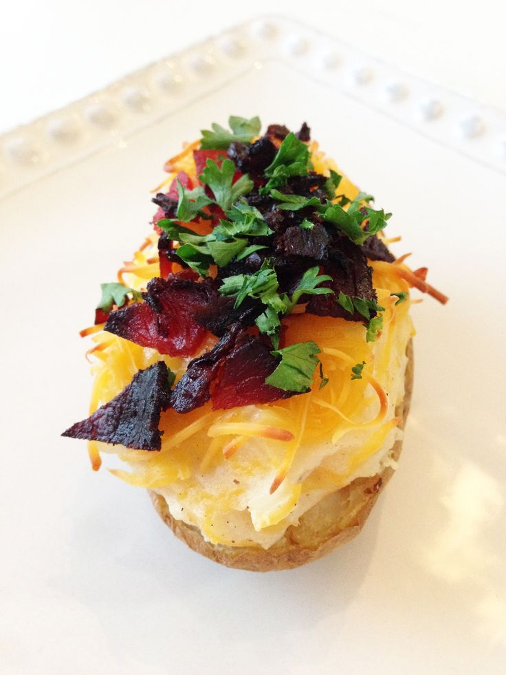 Loaded twice baked potatoes made over. | Snacks and Sides | Pinterest