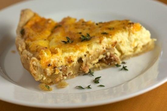 Bacon Quiche | Food | Pinterest