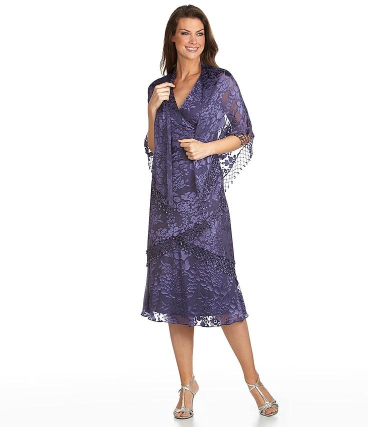 Asombroso Mother Of The Groom Dresses At Dillards Motivo - Vestido ...
