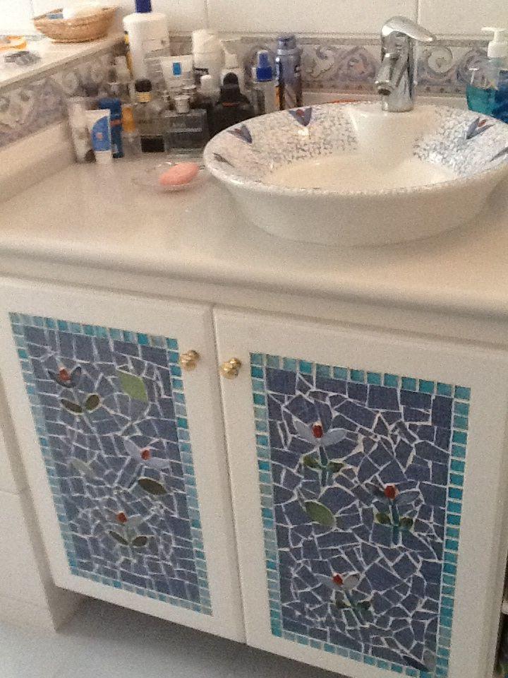Mosaic Cabinet Doors Beautiful Pinterest