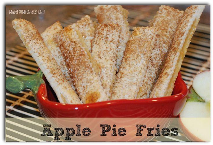 Apple Pie Fries | Recipe