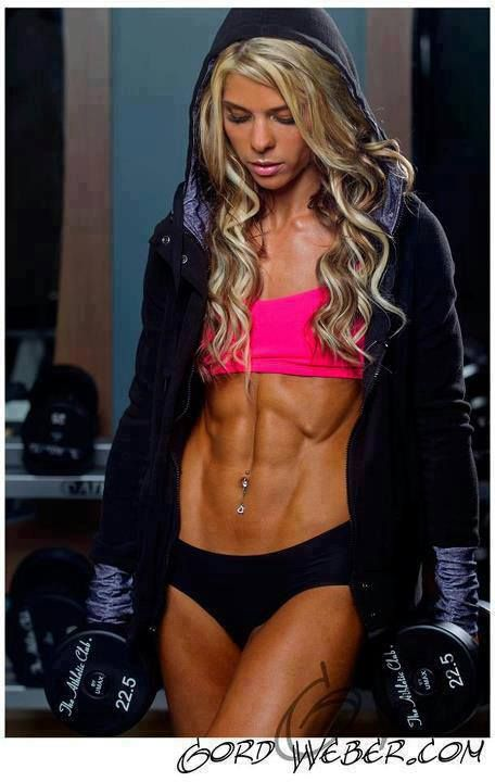 Wow!! hard work went into these super wicked Abs!!super cool fitness ...