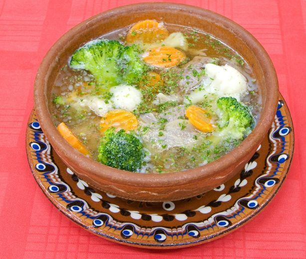 Cauliflower and Broccoli Stew | food | Pinterest