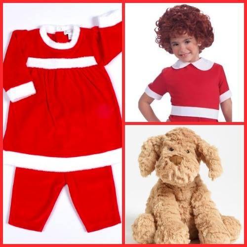 Go as little orphan annie in our reindeer fun velour dress halloween