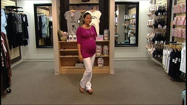 Fashion for Pregnant Women - Women say one of the challenges of