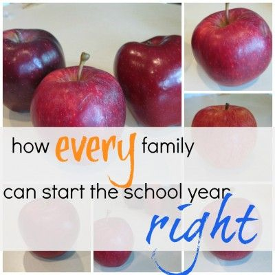 10 easy steps any family can follow to start the school year off on the right foot written by Melissa & Doug blog ambassador @amy mascott @teachmama