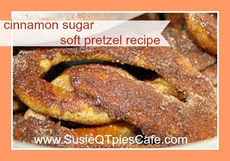 Handmade Homemade Soft Cinnamon Sugar Pretzel Recipe from SusieQTpies ...