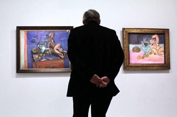 Matisse ou l'art de la paire au Centre Pompidou / photo : afp.com/Marina Helli