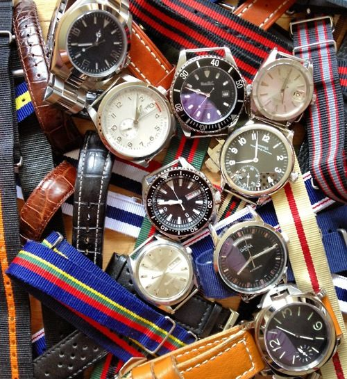 Watch collection on Broke and Bespoke
