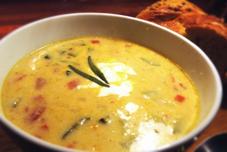 Spicy, Delicious Corn Soup - made with corn, chipotles in adobo, skim ...