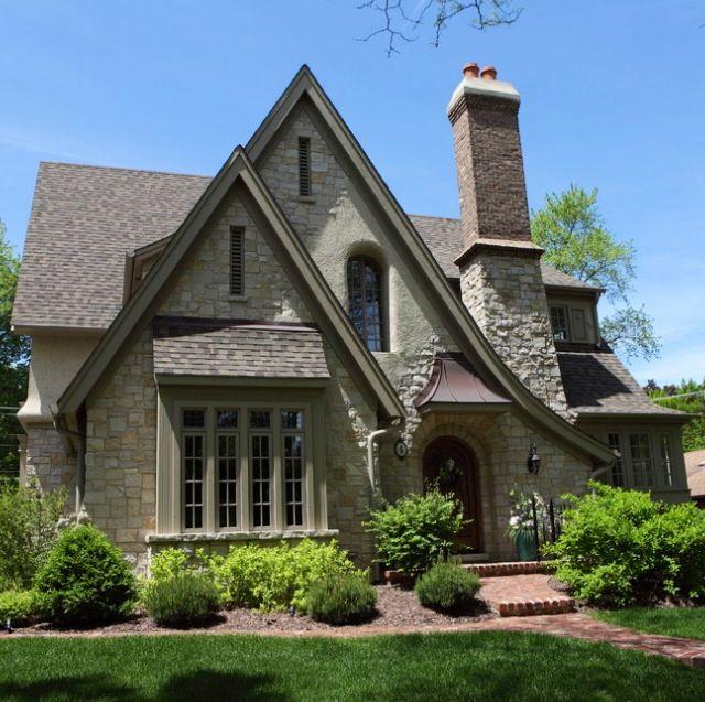 Tudor cottage on exterior design for English tudor style house plans