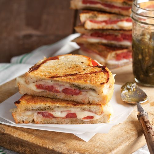 Panini with Prosciutto and Sage Pesto | Florida Vacations | Pinterest