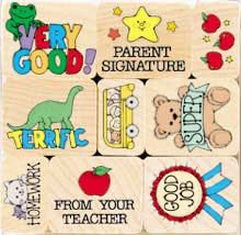 homework stamps for teachers