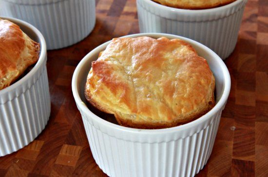 Shrimp and Andouille Pot Pies - The Noshery